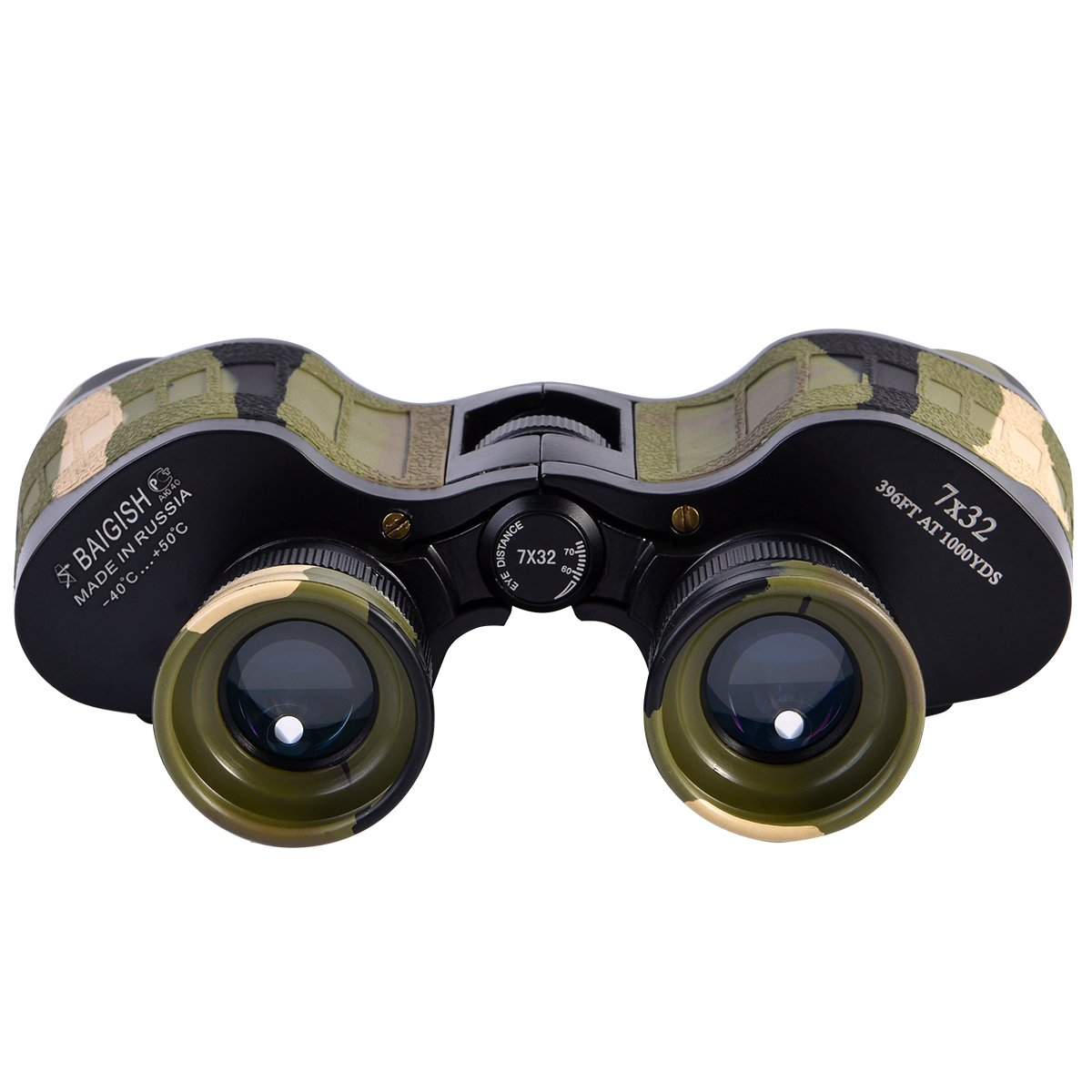 Hign双眼鏡bak4プリズムとFMCフィルムコーティングレンズのアウトドアスポーツ、狩猟など。 B076YHDTGX  C