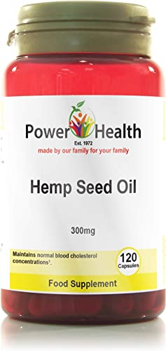 Hemp Seed Oil Capsules 300mg – 120caps