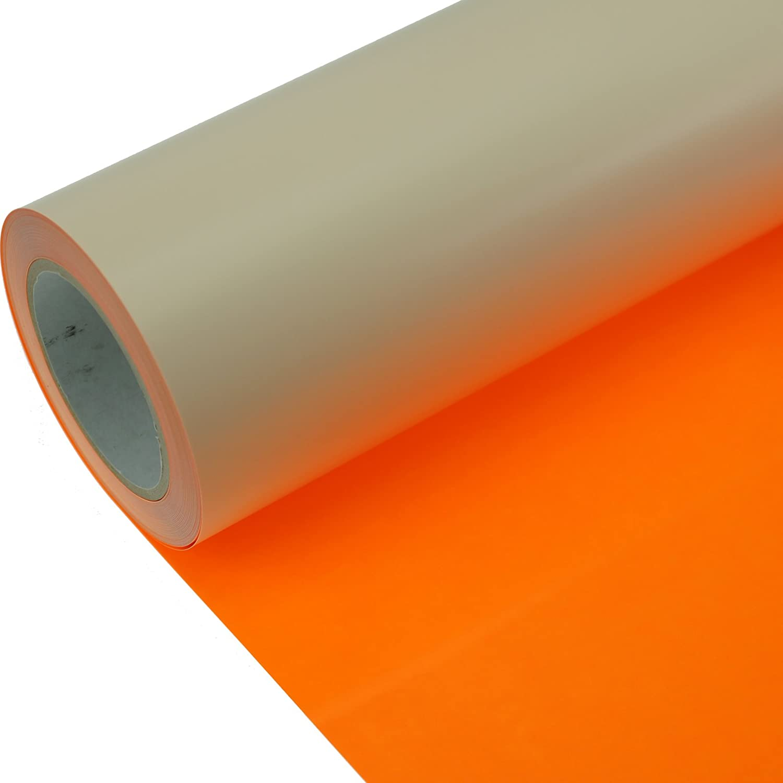 Poliflex Poli-Flex Premium FLEXFOLIE B/ÜGELFOLIE 50 cm x 1 m 442 Neon Orange
