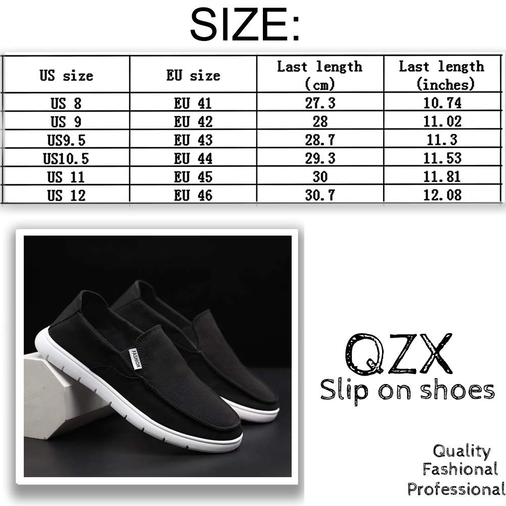 Spearss LightweightMens Cloth Shoes Slip-on Canvas Loafers Outdoor Leisure Walking Convenient