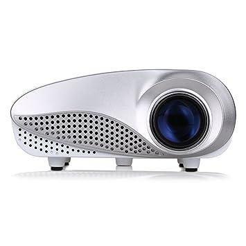 Excelvan LED/LCD Mini Proyector portátil Multimedia AV/USB/VGA ...