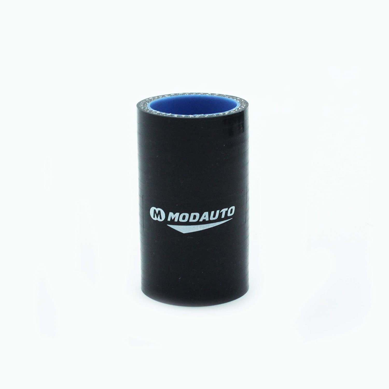 Universal Longitud 15cm Alto Rendimiento 3//4 capas MODAUTO Manguera de Silicona Acoplador Diametro 57mm Tubo de Silicona Recto Modelo E341DBK