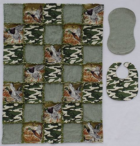 COLEMAN Duck Print with Coordinating Camouflage and Plaid...