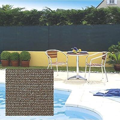 Nortene Malla ocultación Extra Totaltex marrón 1, 5 x 10 m: Amazon.es: Jardín
