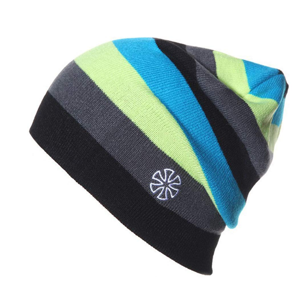 Warm Winter Hat Knitted For Unisex Casual Beanie Cap