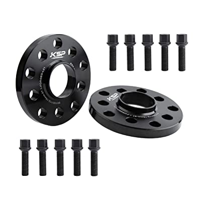 KSP 5X100 & 5X112 Wheel Spacers, 2PCS 15mm Hubcentric Forged Spacers with Sphere Seat Lug Bolts fit for Audi A3 A4 A6 A8 S4 S6 S8 Quattro TT 5 Lug Thread Pitch M14x1.5 Hub Bore 57.1mm: Automotive