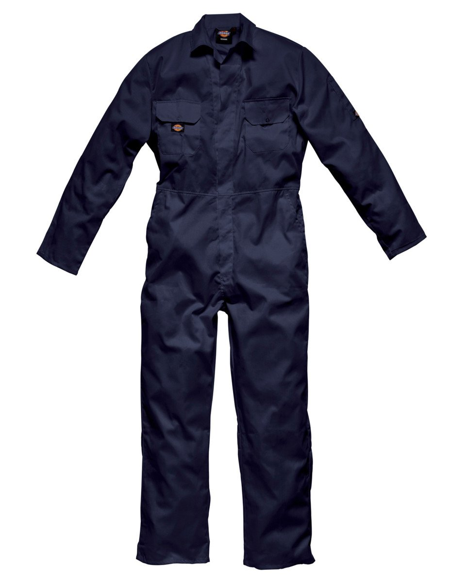 Dickies Redhawk Stud Coverall Regular Colour=Navy Blue Size=XL