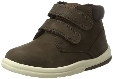 030c5a5d4508 Timberland Kid s Toddle Tracks Hook and Loop Boot, Brown (Red Briar), 9.5