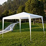 10'x10'Outdoor Canopy Party Wedding Tent Garden Gazebo Pavilion Cater Events WHITE