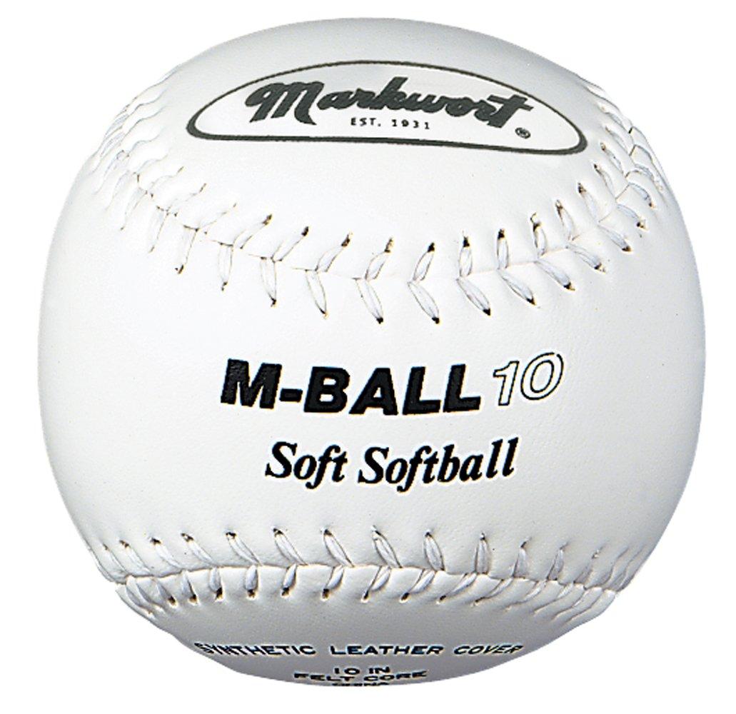Markwort Markwort Markwort Weich und Light 25,4 cm Softball (Dutzend), weiß B0001H1URE Blle Fairer Preis 343a1a