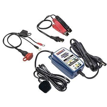 Optimate 1 Duo - Cargador de batería automático de 12 V de Litio y ácido de Plomo para Motocicleta