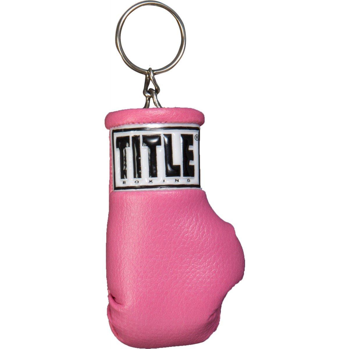 Amazon.com: Título Excel Guante de boxeo llavero, negro ...