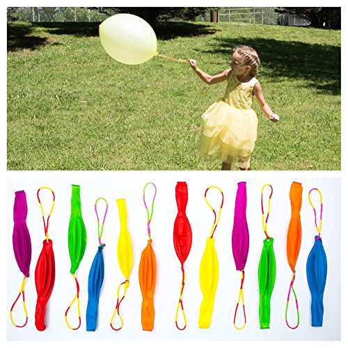 Punch Balloons Party Favors for Kids (24 Pack) - Best for Birthday Gift Bags, Kids Games and Party Games - Extra Large, Eco Friendly Natural Latex Punch Balls - for Boys and Girls ()