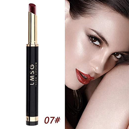 Amazon.com : LtrottedJ 1PC Lipstick Waterproof Long Lasting Matte Lipstick Cosmetic Beauty Makeup (G) : Beauty