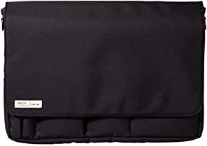 LIHIT LAB Carrying Pouch (Laptop Sleeve), 9.4 x 13.4 Inches, Black (A7577-24)