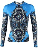 QinYing Cycling Jersey, Women Patterns Stylish Breathable Bicycle...
