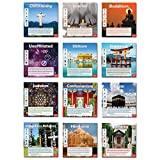 World Religions Mini-Poster Set