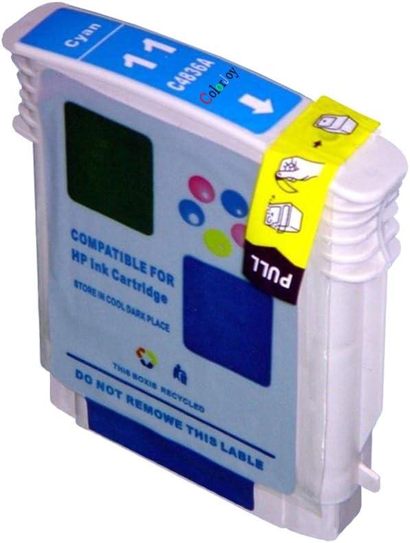ColorJoy compatible HP C4844V 10/11 cartuchos de impresión oficial ...