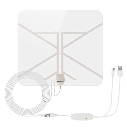 HD TV Antenna, WochiTV 50 Mile Range HD Supply Indoor Digital HDTV Antenna with Detachable