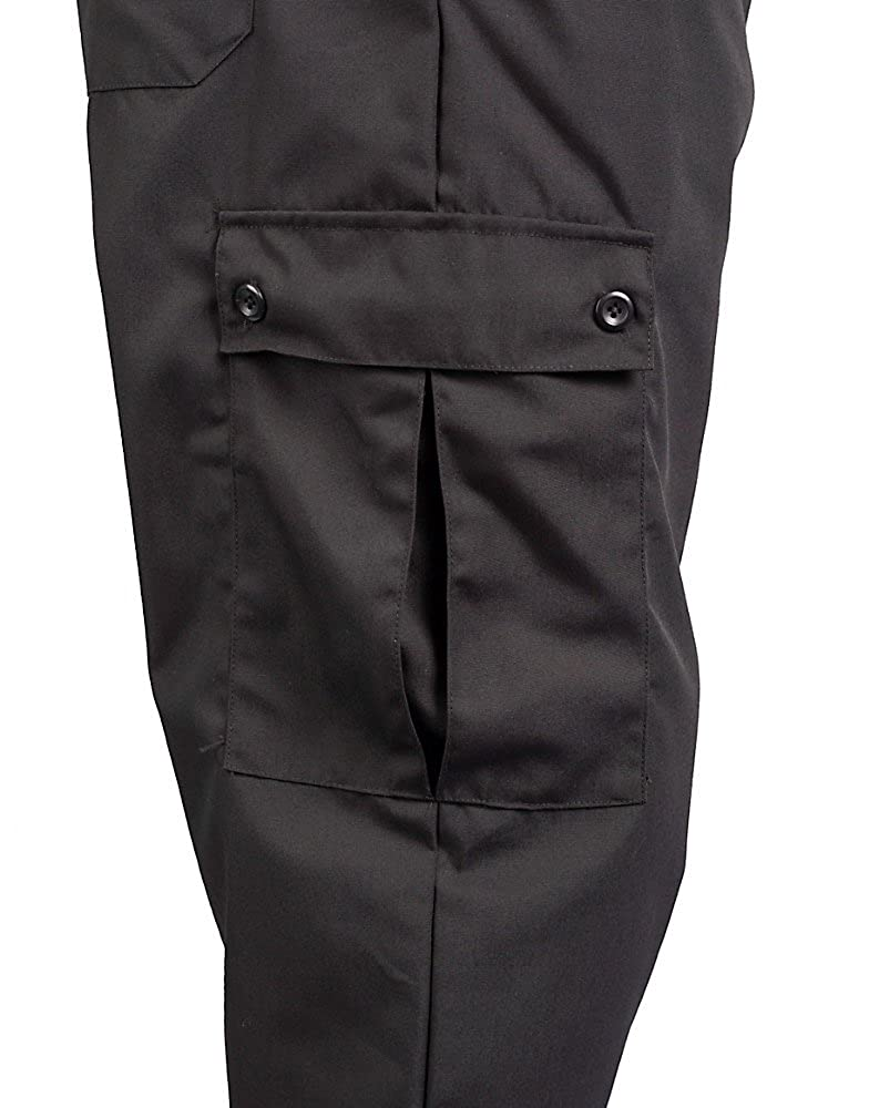 5bdbac0f1 Amazon.com: KNG Black Cargo Style Chef Pant: Clothing