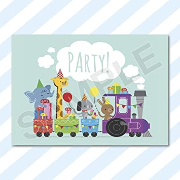 A6 Cards Birthday Party Invitations Invites Pack Girls