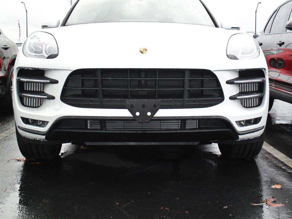 Amazon.com: 2017-2018 Porsche Macan Turbo Quick Release Removable Front Take Off License Plate Bracket: Automotive
