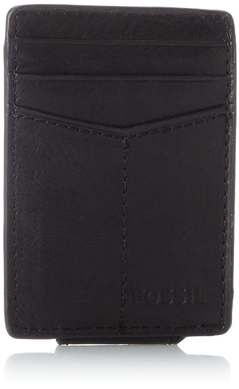 Fossil Men\'s Ingram Magnetic Multi-Card Wallet, Black, One Size at ...