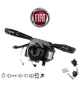 FIAT ORIGINAL INTERRUPTOR DE COLUMNA luz FIAT GRANDE PUNTO / PUNTO EVO (199) 735521315 ORIGINAL – compatible con TODOS MODELOS EXCEPTO jenen con ...
