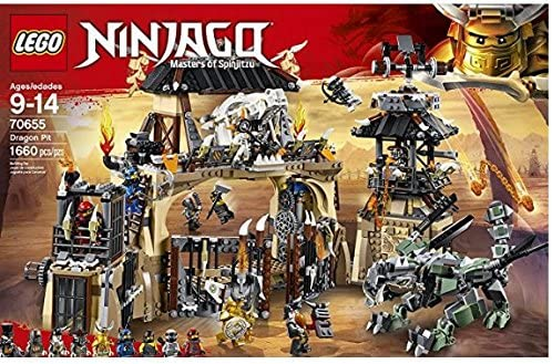 LEGO 2018 NEW NINJAGO The Dragon Pit 70655