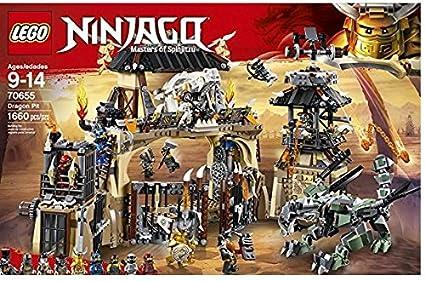 Amazoncom Lego 2018 New Ninjago The Dragon Pit 70655 Toys Games