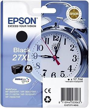 Epson C13T27114022 - Cartucho de tinta, XL, color negro: Epson: Amazon.es: Electrónica