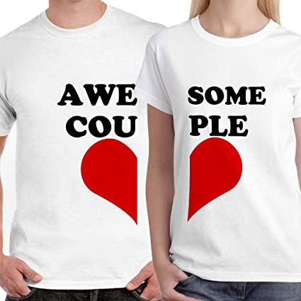 f10d0dbb6 Buy DreamBag Couple T Shirts - Awesome Couple Unisex Couple T-Shirts ...