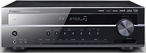 Sherwood RD-7505 110W Audio Video Receiver Black Discontinued by Manufacturer