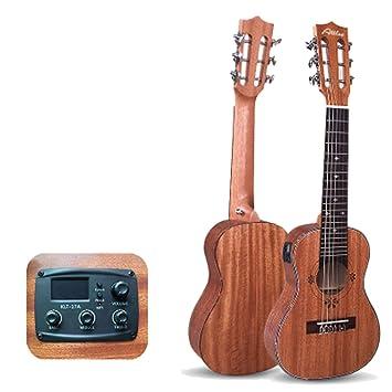 huanle Guitarra de 28 Pulgadas, Guitarra clásica para niños de una ...