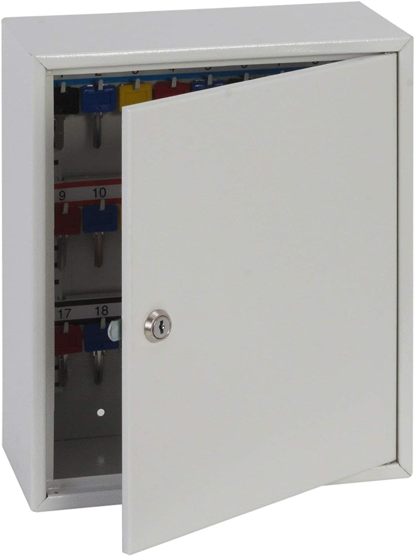 Phoenix KC0501K Blanco - Caja fuerte (Llave plana, Blanco, 380 mm, 140 mm, 350 mm, 378 x 138 x 348 mm): Amazon.es: Hogar
