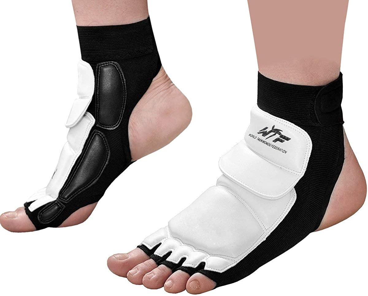 Taekwondo Foot Protector Gear Martial Arts Fight Boxing Punch Bag Sparring: Clothing