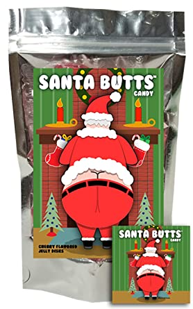 Santa Butts Candy – Jaleas de frutas de cerezo – Único ...