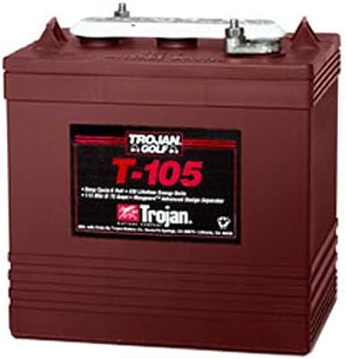 Lot of 6 Trojan T-105 6V Golf cart batteries