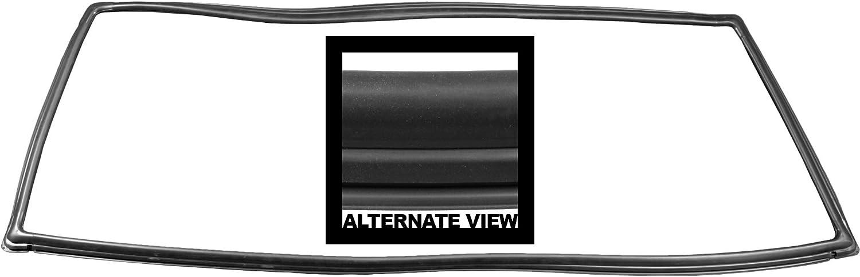 Rubber Door Weatherstrip Seal Left or Right for Jeep Grand Cherokee Wagoneer