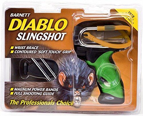 - Barnett Diablo Slingshot Hunting Slingshot Shooting Sport New Free Shipping