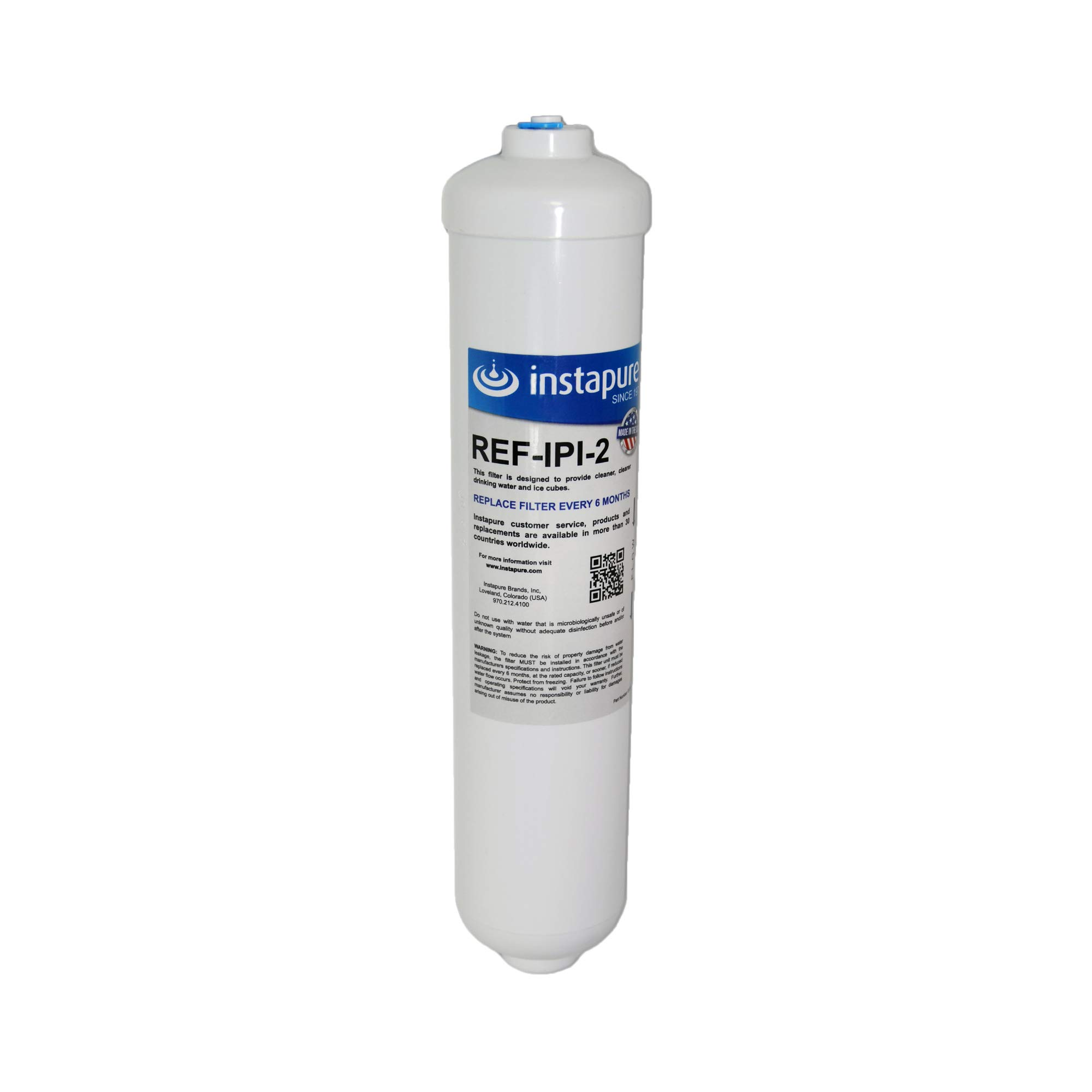 Instapure REF-IPI-2 ULTRA Inline Filter, MADE IN USA, Compatible with Samsung Water Filters DA29-10105C and more. Delivers great tasting water! by Instapure