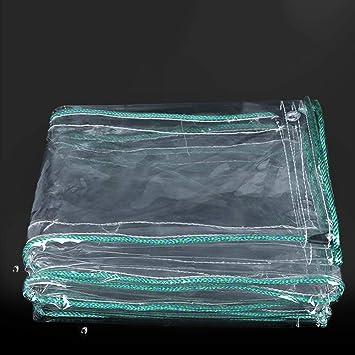 0 5mm Wasserdichte Transparente Plane Falle Balkon Regen Vorhang