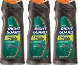 (3 Pack) Right Guard Hair & Body Wash - Xtreme Fresh - Energizing - Net Wt. 16 Fl Oz (473 Ml) Each by Right Guard
