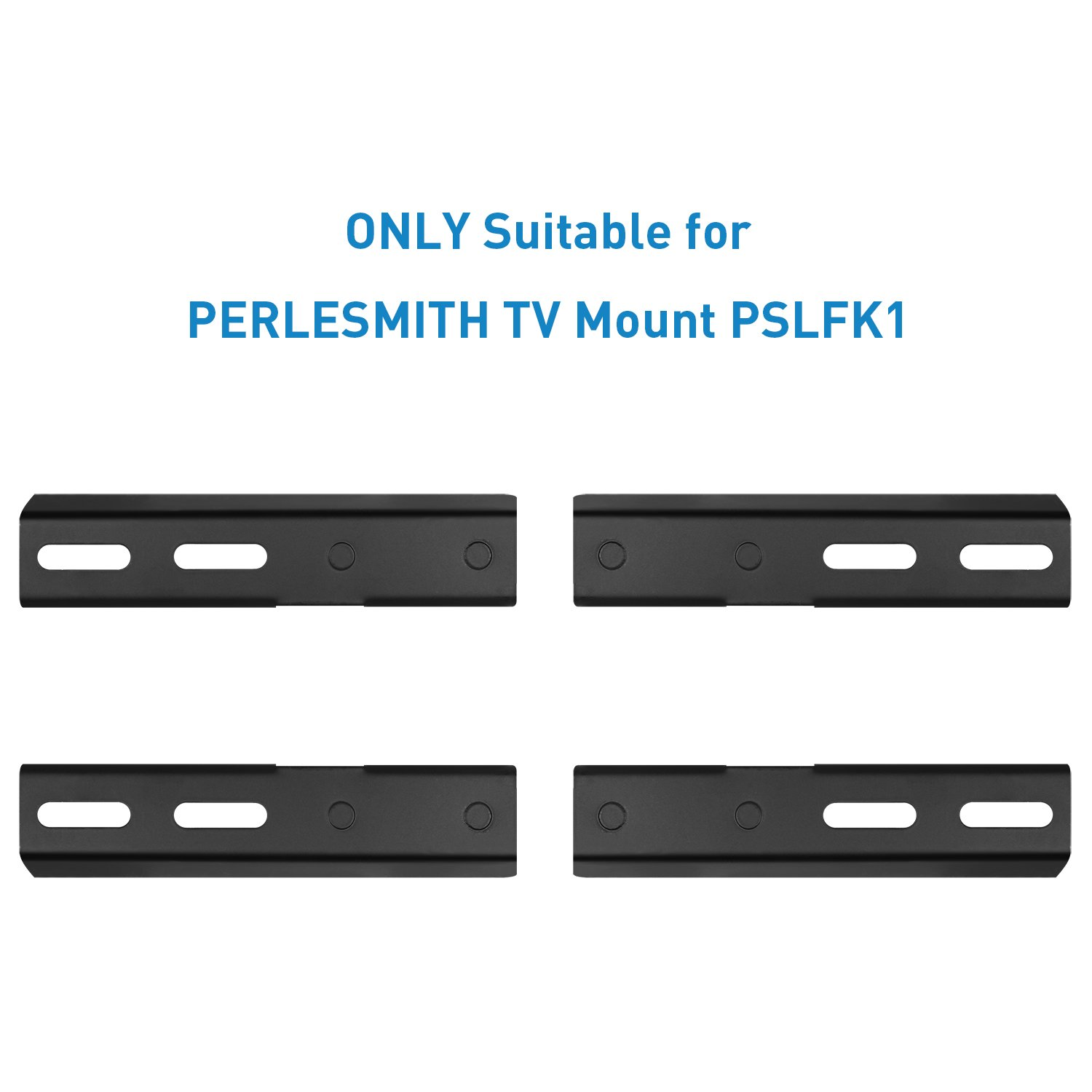 18-24 Inch Wood Stud Extension Bracket ONLY for 16 Inch Wall Plate of PERLESMITH TV Full Motion Wall Mount-PSLFK1, Max Loading Capacity 132 LBS, Solid Steel TV Mount Extender and Easy Installation