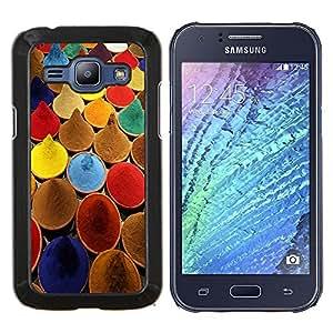 LECELL--Funda protectora / Cubierta / Piel For Samsung Galaxy J1 J100 -- Especias India cocina colores de pintura Mercado --