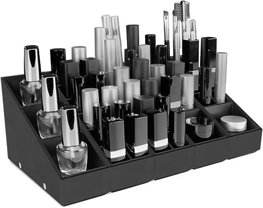 Organizador de maquillaje – Makeup organizer - Solución de almacenamiento modular para el maquillaje – Uniq Organizer – « Pack Organizador Integral »: Amazon.es: Hogar