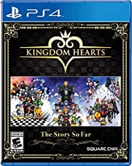 In Kingdom Hearts The Story so Far, Keyblade wielders can relive the magical adventures of Sora, Donald Duck, Goofy and friends as they attempt to stop the Heartless invasion that threatens their universe. Fans will travel to iconic Di...