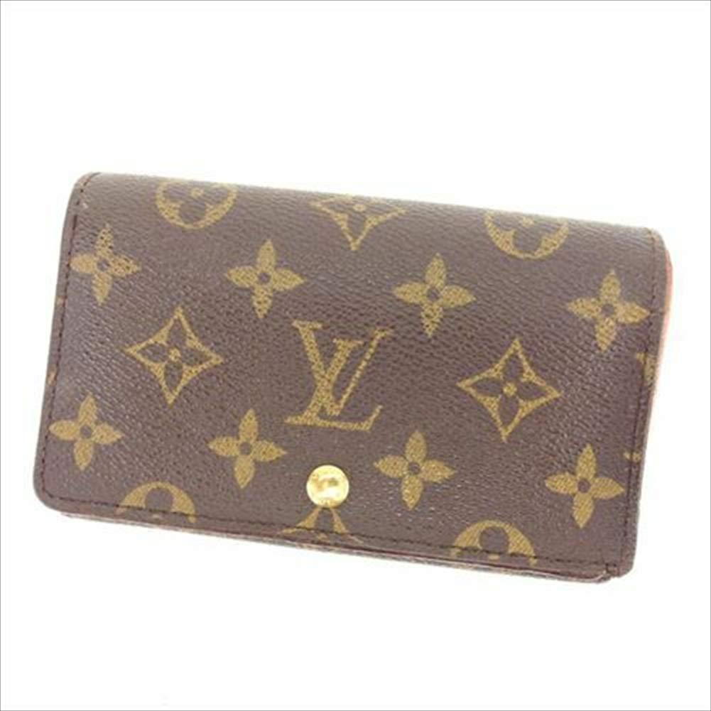 ルイヴィトン Louis Vuitton L字ファスナー財布 二つ折り メンズ可 ポルトモネビエトレゾール M61730 モノグラム 中古 人気 T11436   B07R68JRVW