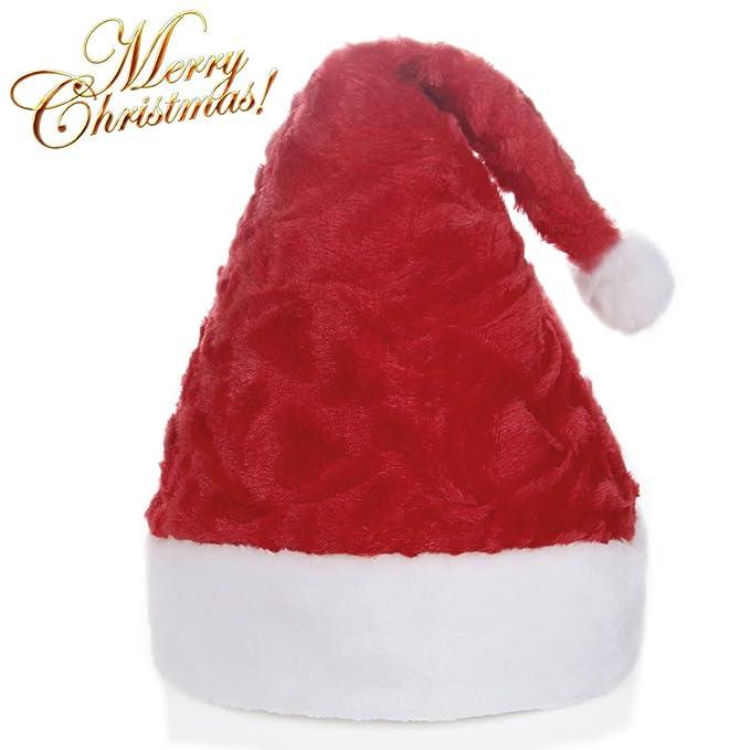 Cappello di Santa cappelli di Natale 73582e47057e