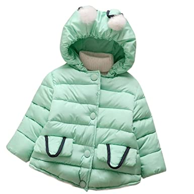 e7580b8c5ce9 Amazon.com  WuyiMC Baby Girl Cute Winter Coat